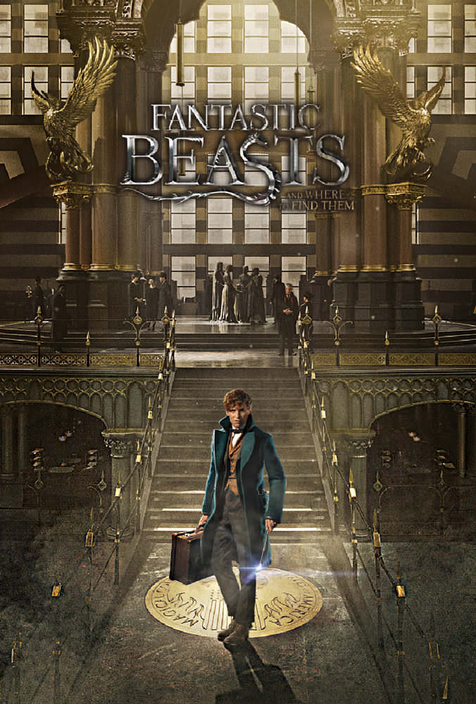FANTASTIC BEASTS AND WHERE TO FIND THEM characters, names and related indicia are(c)& TM Warner Bros. Entertainment Inc. (s16)