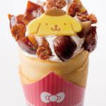 ポムポムプリンのマロンチョコクレープ650円@