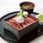 ビーフステーキ重さっぱり和風ソース1500円