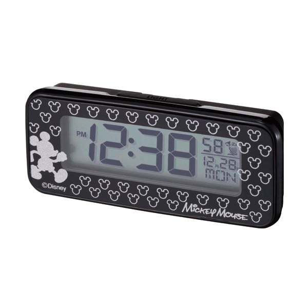 LEDバックライト付き電波時計 商品画像