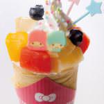 キキ&ララのトロピカルフルーツクレープ650円アップ