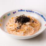 明太子クリームのきのこスパゲッティ950円