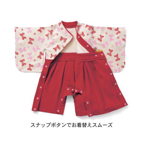 袴風オール スナップボタン