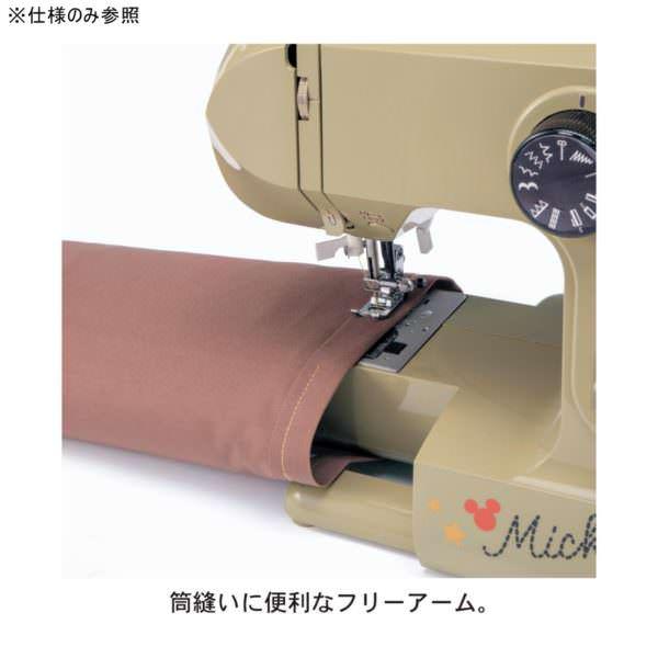 大型テーブル付き電子ミシン 筒縫い