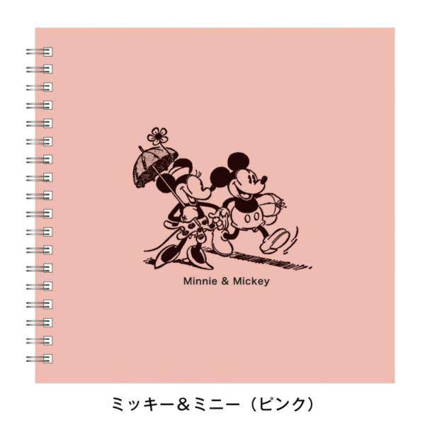 フォトクロッキーアルバム ミッキー&ミニー ピンク