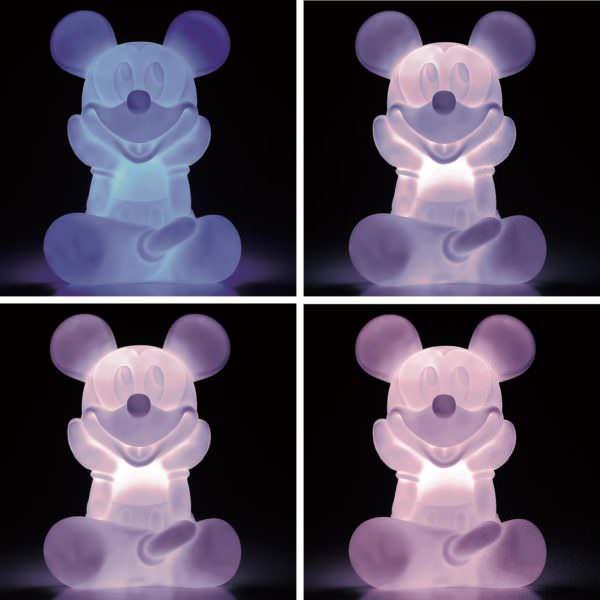LEDインテリアライト ミッキー光り方4