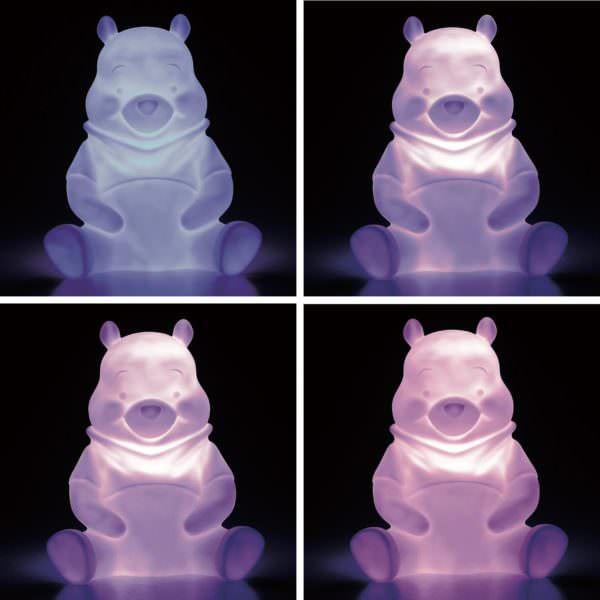 LEDインテリアライト プーさん 光り方4