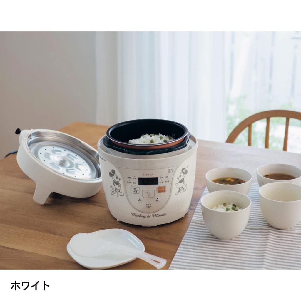 電気圧力鍋 ホワイト