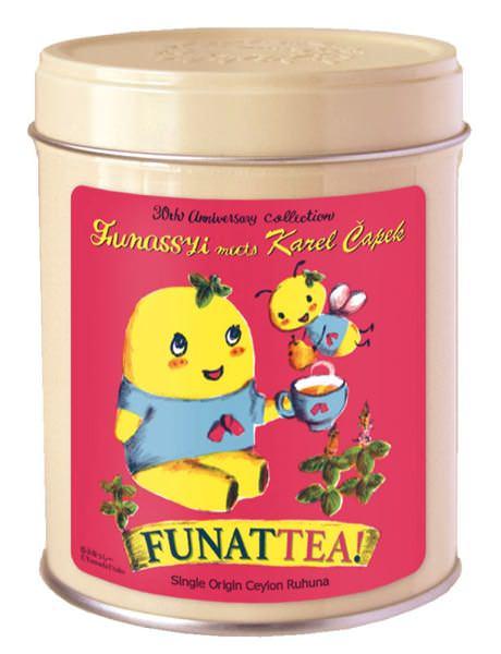 FUNATTEA ティーバッグ8p 缶