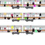 銀座線「くまモンラッピング電車」