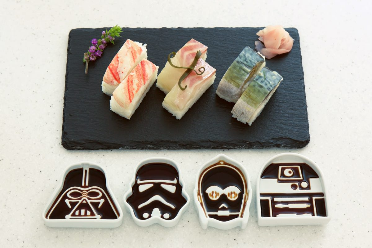 STAR WARS™ SOY SAUCE DISH 使用イメージ