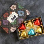 ボックス入りハートチョコレート