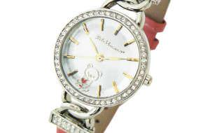 リラックマ腕時計(ベルトピンク×文字盤ゴールド)