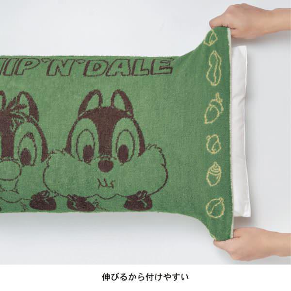 のびのび枕カバー 伸びる