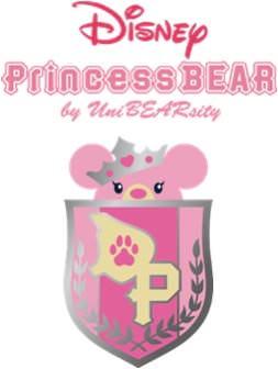 Disney Princess BEAR by UniBEARsityロゴ