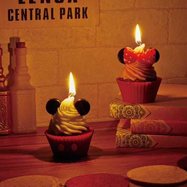カップケーキキャンドル 点灯