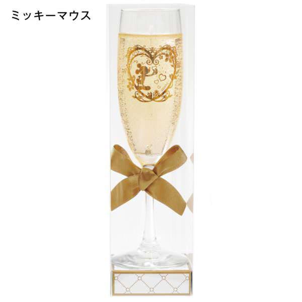 シャンパンフルートキャンドル ミッキー