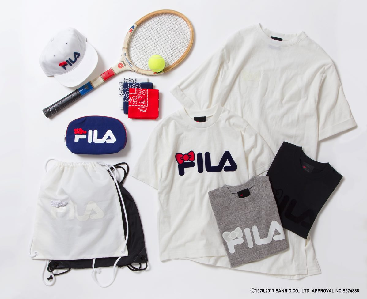 HELLO KITTY x BEAMS JAPAN FILA 別注シリーズ