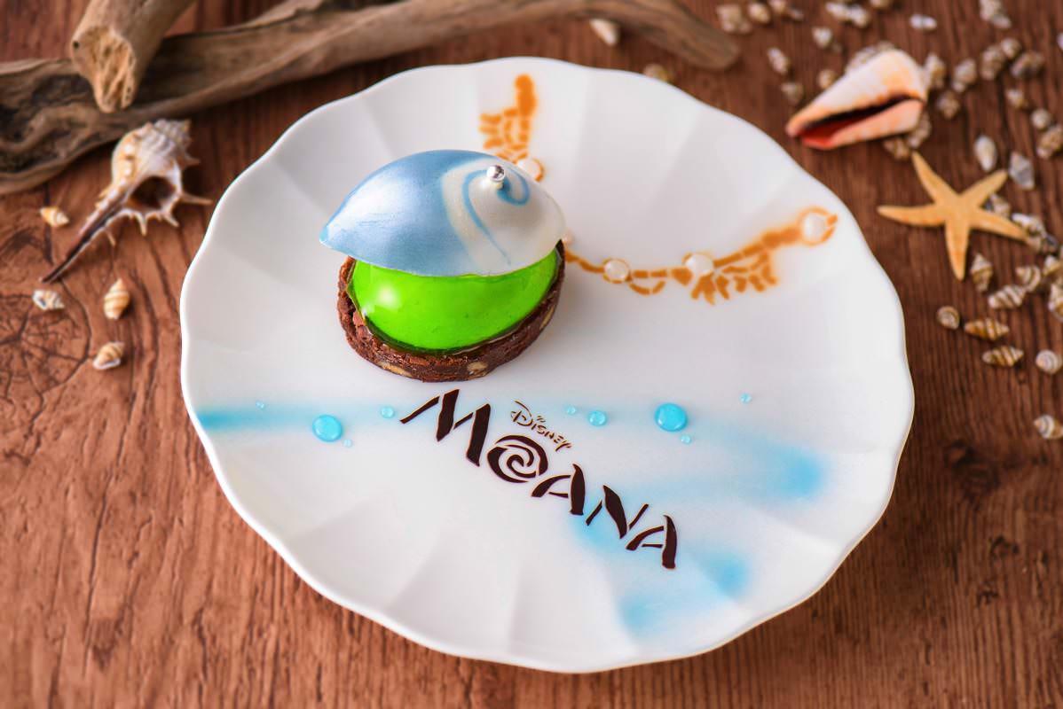 ドリーマーズ ラウンジ モアナと伝説の海 ケーキセット