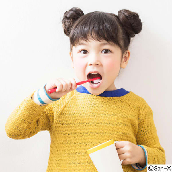 リラックマ 歯医者さんと作った歯ブラシセットの会