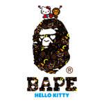 HELLO KITTY & MY MELODY x A BATHING APERコラボTシャツ