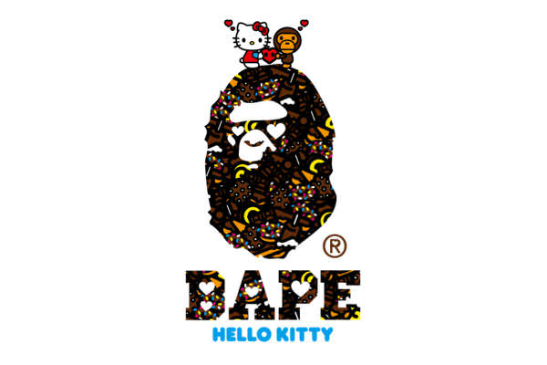 HELLO KITTY & MY MELODY x A BATHING APE®コラボTシャツ