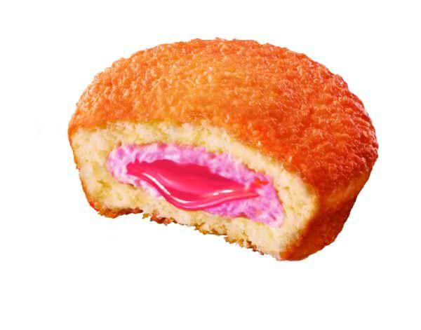 ロッテ カスタードケーキ断面