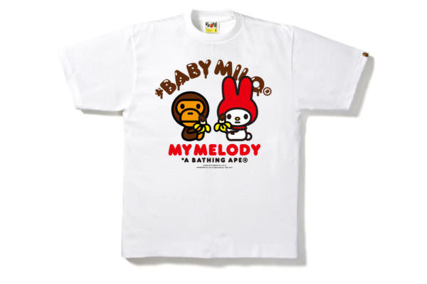 HELLO KITTY & MY MELODY x A BATHING APE®
