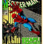 「アメイジング・スパイダーマン」#65(1968年) 原画