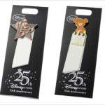 毎月25日に限定デザインのピンバッジとポストカードが登場!ディズニーストア「ディズニーストア ジャパン25周年特別企画」