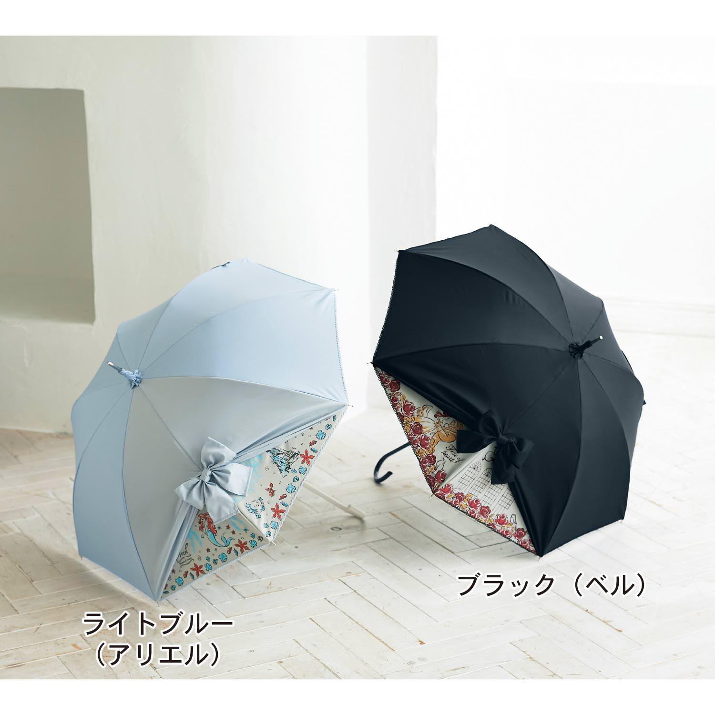 リボン付き晴雨兼用日傘