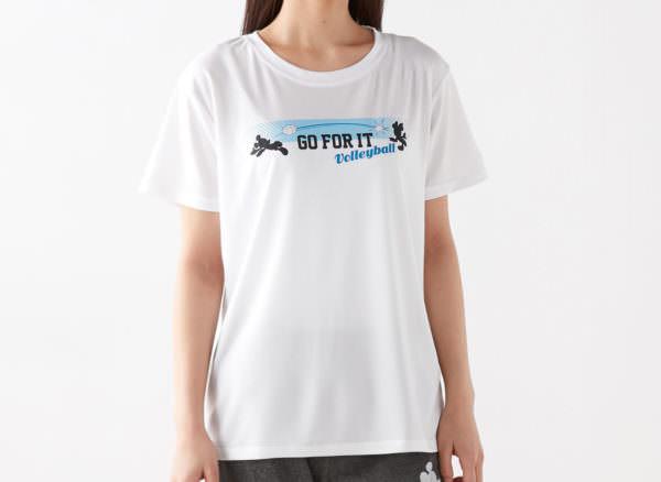 ミッキー&ミニー メッシュTシャツ オフホワイト