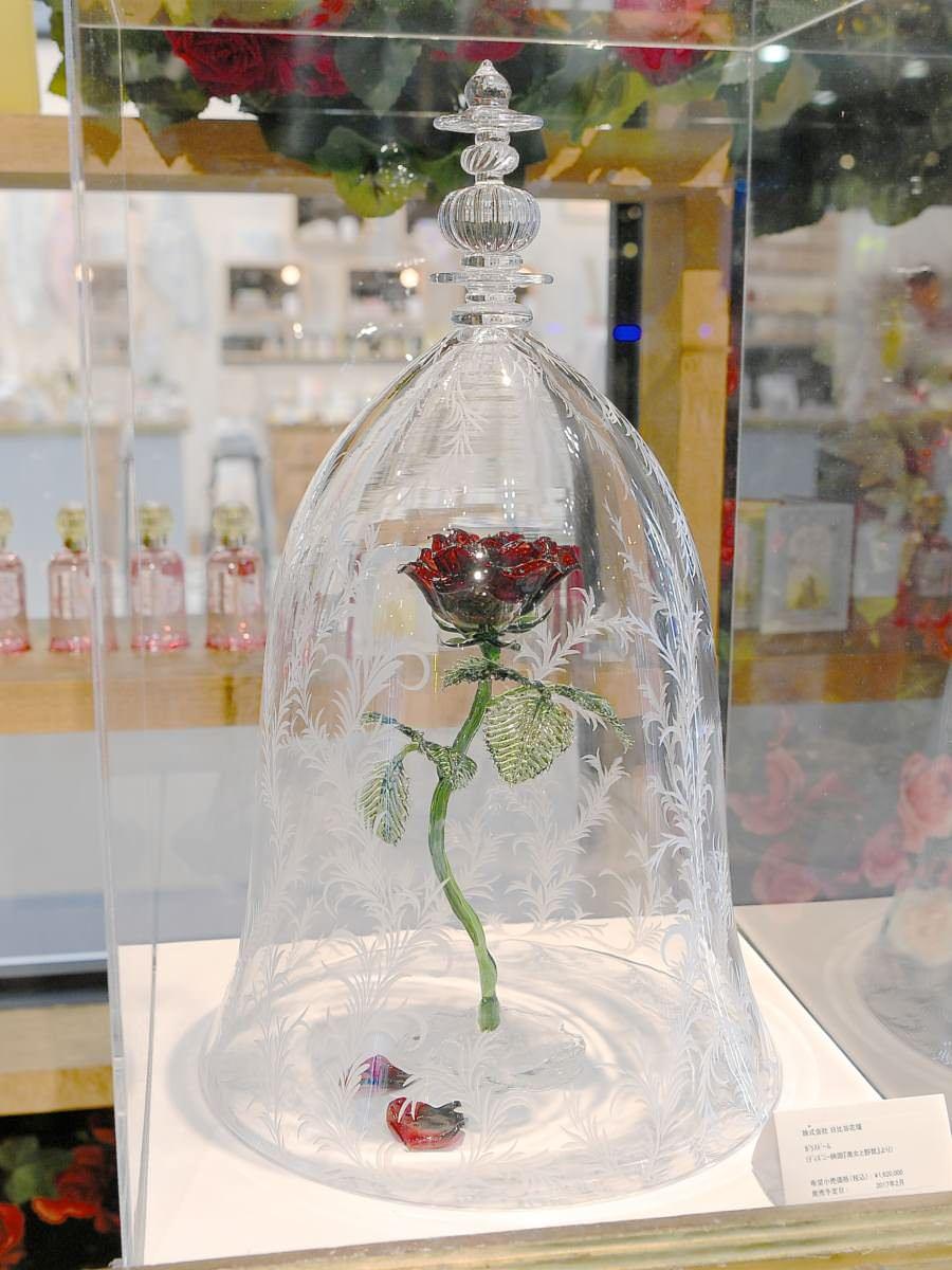 | 美しすぎる『美女と野獣』の魔法のバラ!日比谷花壇 ディズニー ガラスドーム「La Rose(ラ・ローズ)」