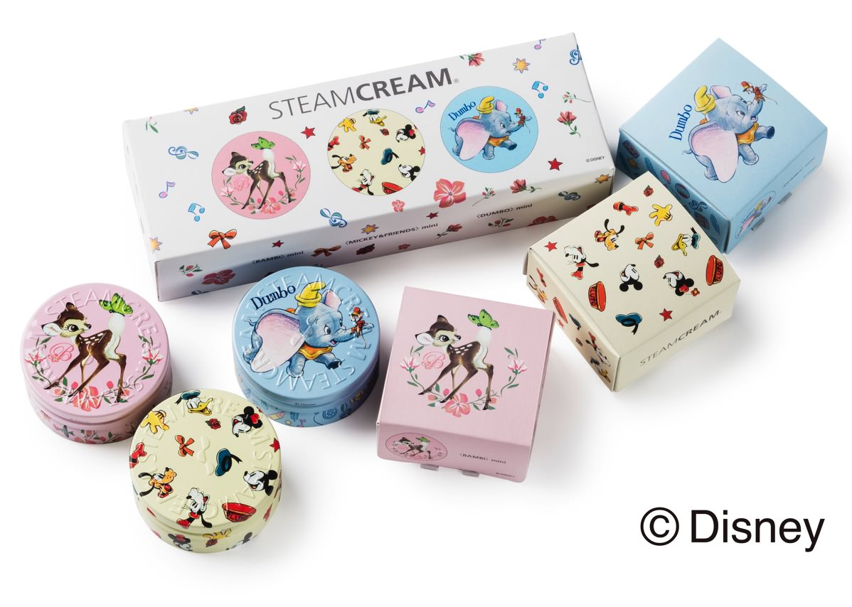 STEAMCREAM Disney design mini set – Classic – イメージ