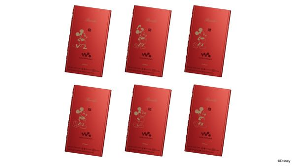 ウォークマンAシリーズ A Pictorial History of Mickey Mouse デザイン