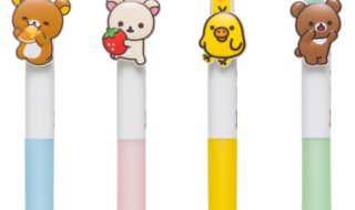 ローソン&リラックマ 3色ボールペン