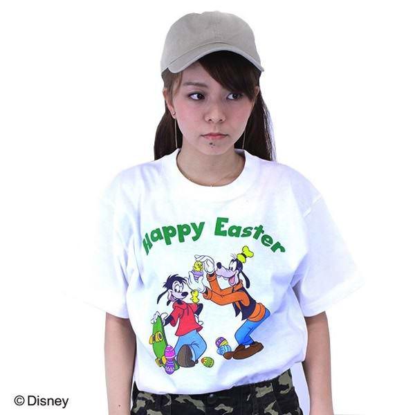 ディズニー イースターTシャツ グーフィー&マックス