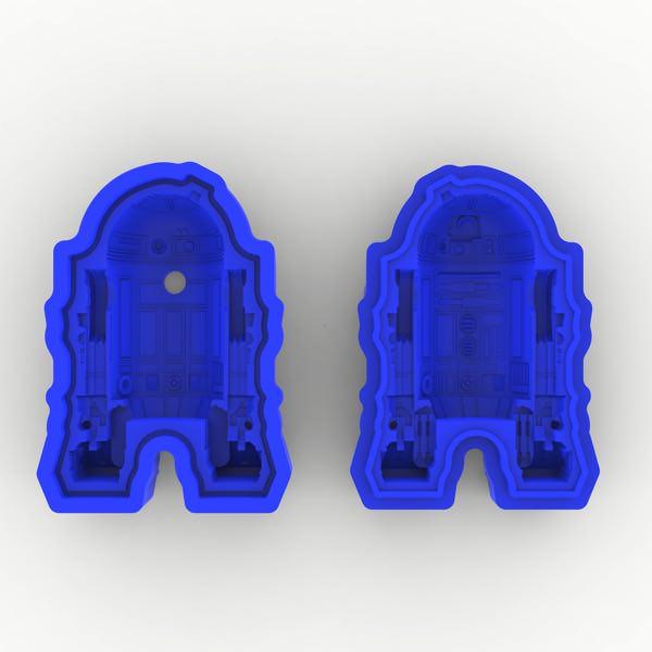 R2 D2型 立体シリコンモールド 2