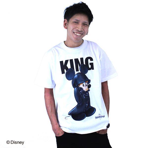 キングダムハーツ Tシャツ ミッキー 白