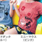 クリアポケット付き鹿の子Tシャツ