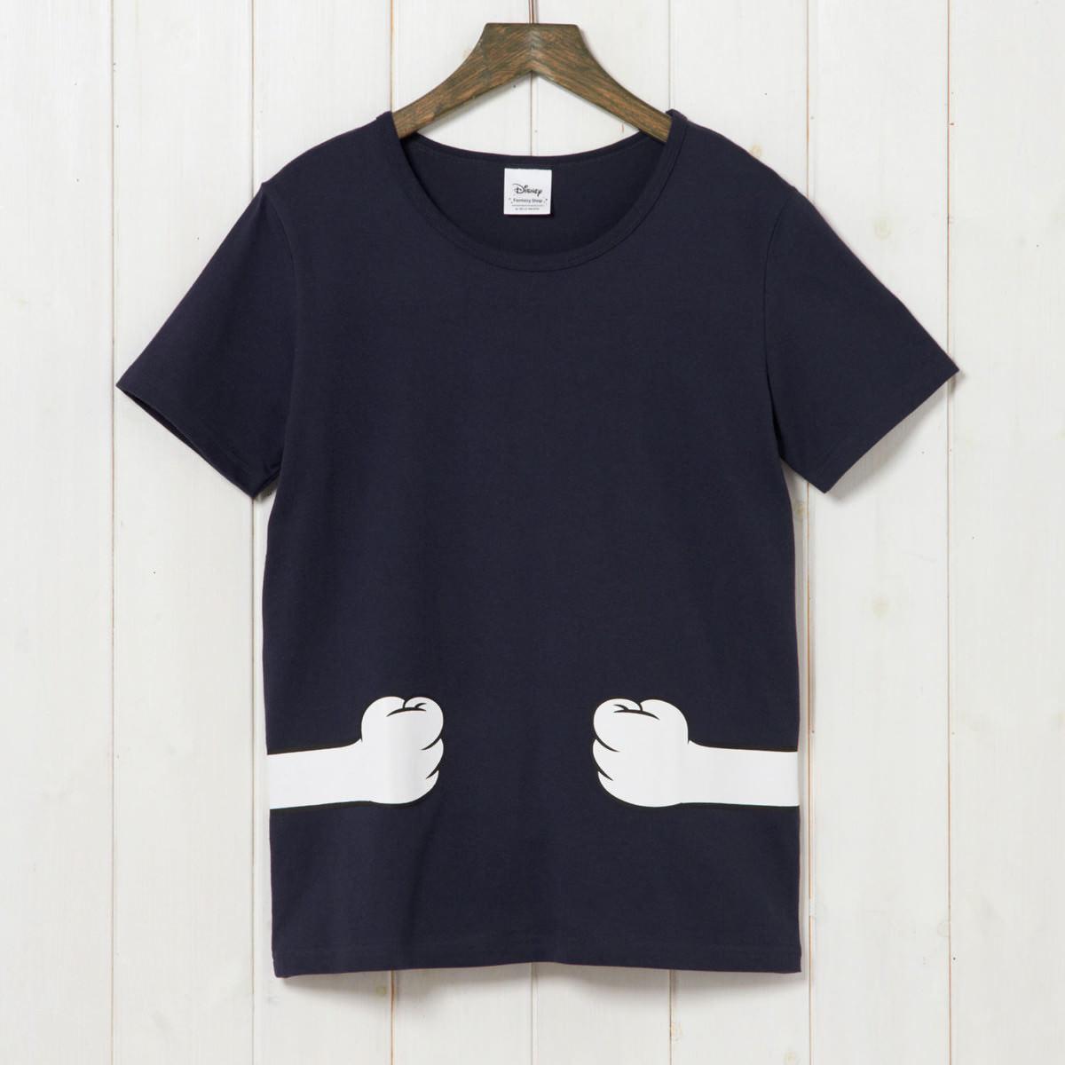 つながるプリントTシャツ ドナルド アロハ