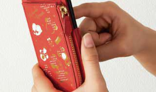 iPhone7/6s/6対応コインケース付きスマートフォンケース