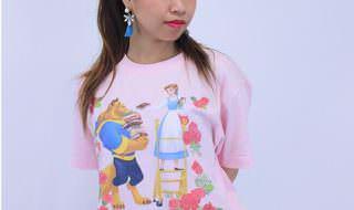 美女と野獣 Tシャツ2