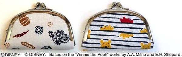 ディズニー 手ぬぐい風カットクロス チップ デール くまのプーさん ミッキー ミニー 作品例