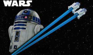 R2-D2 マスコット付きお箸 イメージ