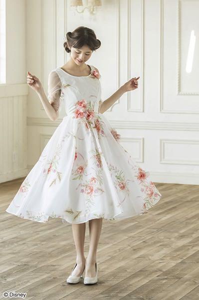 ブーケリボン ドレス(美女と野獣ver.)
