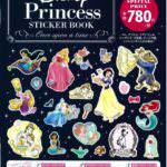 プリンセスの大人かわいいステッカーが大集合!宝島社「Disney Princess STICKER BOOK―Once upon a time―」