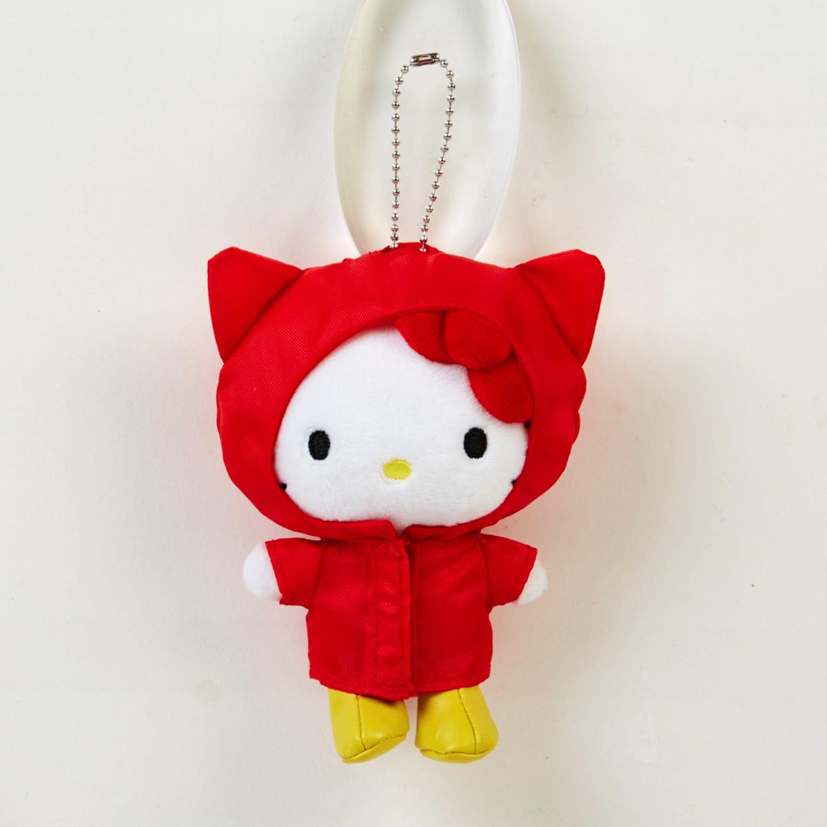 カラフル雨ちゃんマスコット キティ1