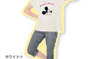 ガールズ半袖Tシャツ&七分丈パンツパジャマ