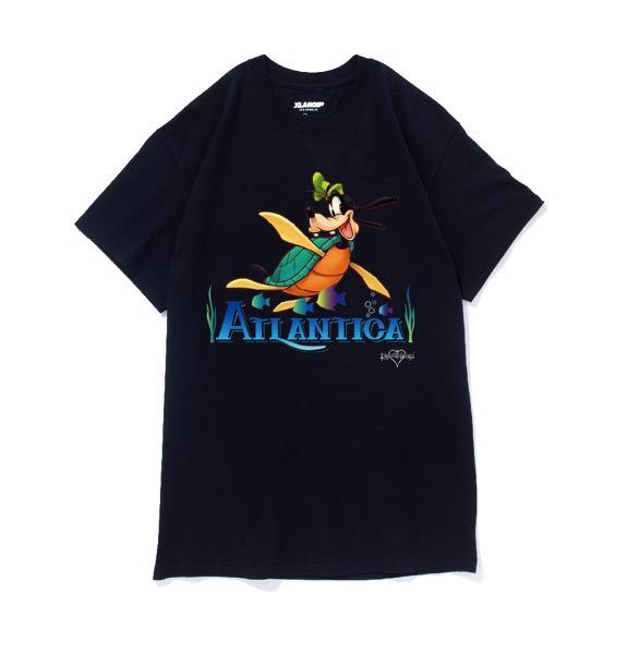 XLARGE®沖縄店 Disney キングダムハーツ アトランティカ グーフィー ブラック 表